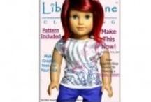 American Girl Doll patterns,access, free tut / by shamrocknanna