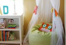 Reading Corners (Nooks) for Kids / reading spaces for kids, book nooks, reading nooks / by Melissa Taylor @ImaginationSoup