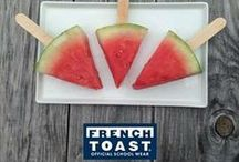 Weekend Snack / Looking for creative snack ideas for kids? We've got your back! Check out these tasty treats! / by French Toast
