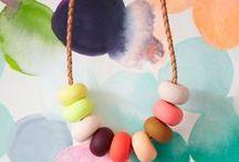 Kleur Inspiratie Sieraden / by Margo Sengers