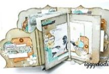 mini albums / by Lisa Barton Wisdom of the Old Ways