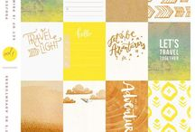 Project Life free printables / free printables and ideas for project life / by Lisa Barton Wisdom of the Old Ways