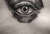 illustrative woodcut & folk art tattoos / by Tilly Garcia