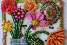 A. Stitching and embroidery / by Susan Stewart
