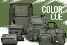 Color Cue: Spruce Up! / Go green and prepare to be the envy of all your fellow travelers in our newest statement-making hue. / by Tumi