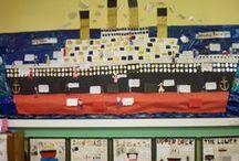 Titanic teaching ideas / by Helen Peckett