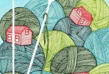 Knit, Crochet, Macrame, Spin! / a variety of crafts / by Lauren Lanita