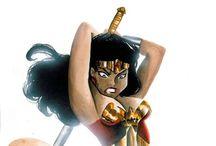 Wonder Woman Prefers Whole Wheat / by Ryan Costantino