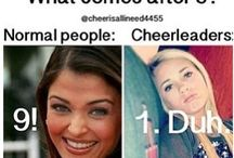 Cheerleading / CHEER!!!!! / by Anna Parker