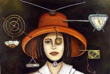 ART:  What's That on Your Head? / by june bug