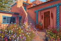 New Mexico & the Southwest / My someday home! Southwest beauty, nature, art, homes, landmarks. / by Ellie