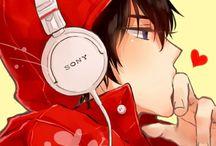 Cute Anime Guys / by Ninja Len Kagamine
