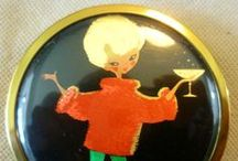 Vintage compact and Cigarette cases / Collections of  / by Netty Q.P