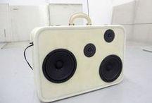 Radio, Vinyl, Videotapes, Case, Camera / by Roberta Ciraolo