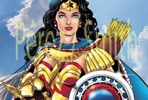 Artist ~ George Perez's run on Wonder Woman / This board I'd dedicated to the major 1985 George Perez revamp to the amazon princess. / by Wonder Comix_master