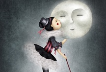 I see the moon, does the moon see me? / by karen rohrbaugh