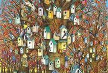 Bird Houses / by Eileen Zahler Bohanon