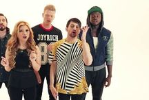 Pentatonix < (also Kevin's) / So. I'm a HUGE pentaholic as you can tell. Enjoy this if your a pentaholic to!!!     (I really hope to see them someday) / by Valerie P