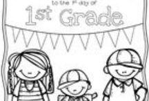 First Grade Fun! / by Kristina Schmidt Scholl