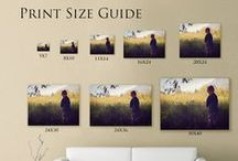 • Wall Guides / Photo Sizing/ Lab Compare • / Wall Guides  / by April Williams Hart