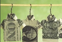 Paper Money Oragomi / by Janell Dobson