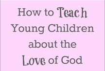SUNDAY SCHOOL / Train up a child in the way he should go and when he is old he will not depart from it.  Proverbs 22:6 / by nellie lacanaria viloria