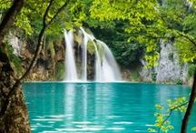 LAKES, RIVERS STREAMS AND WATERFALLS / GOD'S AMAZING WONDERS / by nellie lacanaria viloria