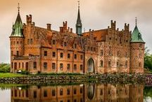 CASTLES / RESIDENCES  OF  NOBLES. / by nellie lacanaria viloria