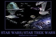 Funny Star Wars/Star Trek :)  / Letting out the pure geeky side and showing funny stuff from my favorite rival movies, Star Wars and Star Trek, enjoy! / by Kendra/Spyke