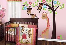 Baby nursery idea / by Ana Campos