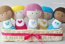 Bonecas de pano 3 / by margareth yumi