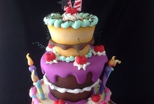Cake Decorating / Tutorials for cakes, cookies, and decorations.  / by Gina Forsse