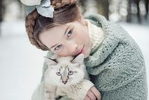 """Catwomen / I've always felt there is a magical """"bond"""" between women and cats. Maybe because our natures are similiar. And my mother always said """"never trust any man that doesn't like cats because he usually has a problem with women. And thats True, so true! / by noreen scully"""