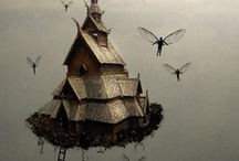 Fairy Dwellings / Just in case there ARE fairys U always want to make them comfortable...right? / by noreen scully
