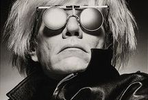 Andy Warhol and Co. / All about Andy, Portraits mainly .. / by Gabriela Bartlett