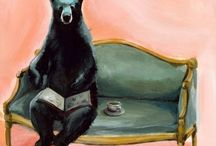 Drawings (Bears, cats & more) / by Annie Gomez