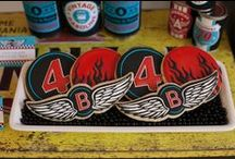 Motorcycle Rally Party / #motorcycle #party #boys #birthday / by Sweet City Candy