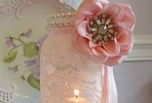 Wedding venue decoration / Flowers, tables, children's table / by Em B