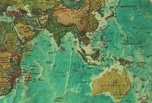 maps, charts and globes / by kay high
