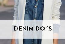 Denim Do's  / | Denim | Jeans | NYDJ | Inspiration |  / by NYDJ Europe