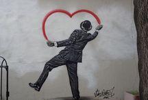 Street heArt / Street Art works. / by Jose Antonio Fundo