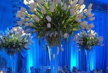 tablescape / beautiful floral centerpieces and table settings / by gerry