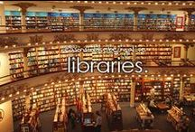 off to the library / by Lorrie Bettinger