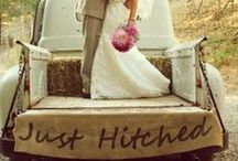 Country Wedding! / Rustic, outdoorsy, classic, and COUNTRY!  What better for a dream wedding?  / by Cute n' Country