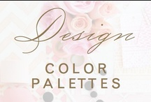 design: color palettes / gorgeous color combinations / by Christina @ Christina Leigh Events