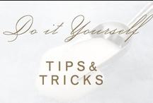 diy: tips & tricks / by Christina @ Christina Leigh Events