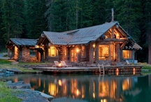 Log Cabins and Mountain living / by Todd and Heather