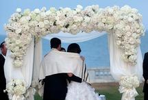 Wedding Ceremonies --Chuppahs  / by A Forever After Wedding Rev. Patricia Borsum