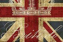 *~ ENGLAND ~* / by Eva-Mary Crone
