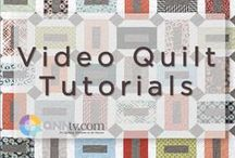 Quilting Tutorials / Whether it's piecing a complicated block or finishing a quilt, solve your quilting woes quickly with these quilting how-tos. / by QNNtv.com